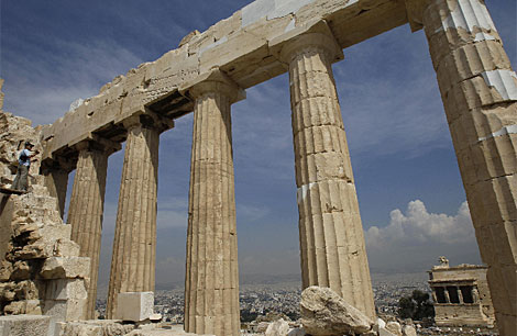 El Partenón, por fin sin andamios (Grecia) 1274801704_1