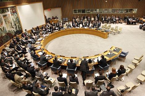 El Consejo de Seguridad durante su reunión en la sede de la ONU, en Nueva York. | Reuters
