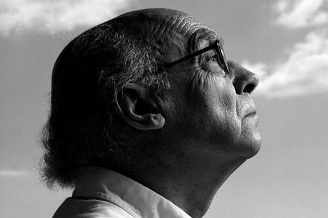 El Nobel de Literatura, José Saramago, en el año 2001. | Chema Conesa
