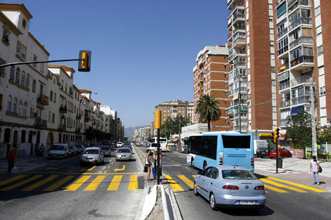 Carretera de Cádiz vuelve a estar completamente abierta al tráfico. | C. Díaz