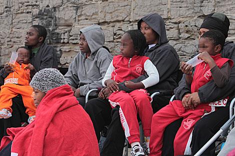 Menores inmigrantes llegados a Algeciras el pasado mayo. |  Francisco Ledesma