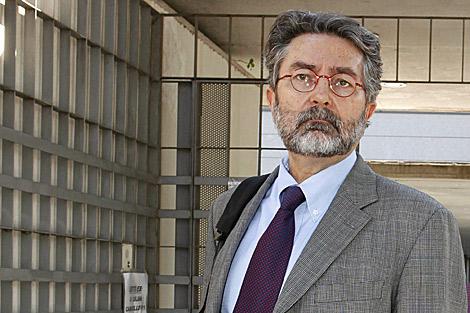 Antonio Rubio, antes de entrar en el juicio en pasado día 25 de junio. | Sergio Enríquez