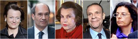 El ministro, su mujer, la heredera, su amigo y su hija