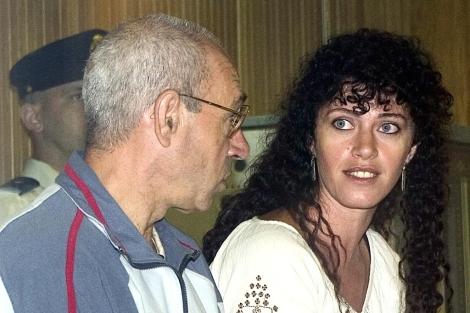 'La Tigresa', junto a Santi Potros, durante un juicio en la Aundiencia Nacional en 2004. | B. Rivas