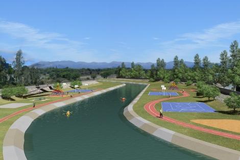 Recreación de cómo quedará el parque fluvial. | ELMUNDO.es