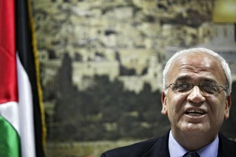 Saeb Erekat, jefe negociador palestino. | Ap