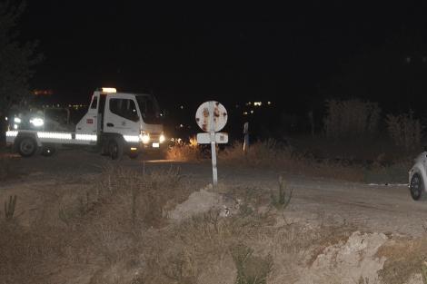 Descampado donde fue asesinada la joven en Villarrubia. | Rafel Madero