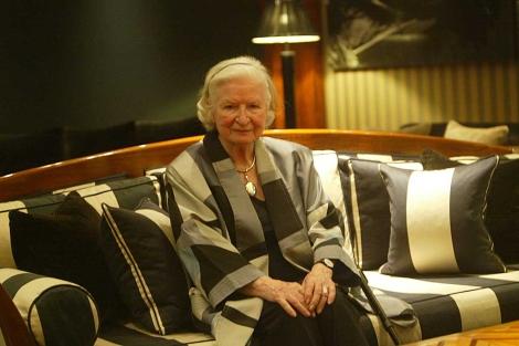La escritora P. D. James, el pasado año en Barcelona. | Quique García