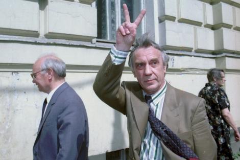 El ex vice presidente soviético Yanayev en 1993. | AP