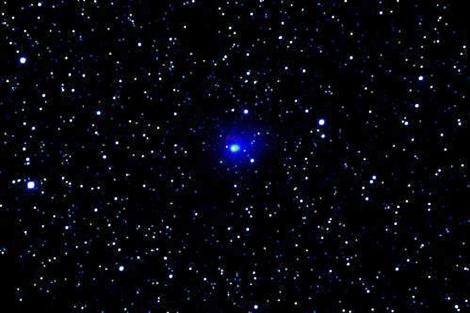 Imagen del cometa facilitada por el observatorio. | Europa Press