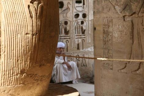 El ingenio arquitectónico del Egipto faraónico, empleado contra desastres naturales. | Efe