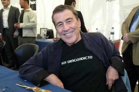 El escritor Fernando Sánchez Dragó.   Quique García