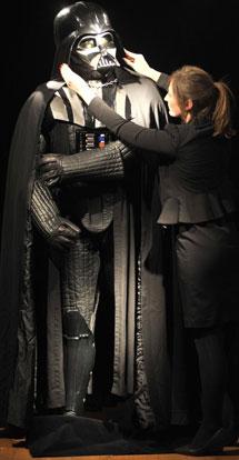 El traje de Darth Vader. | Lennart Preiss / AP
