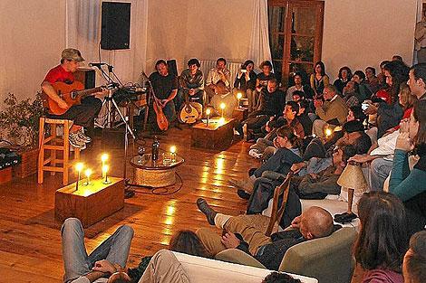 Manu Chao durante el concierto en Sa Pedrissa | Slow Food