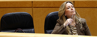 Jiménez, en el Senado. | A. Cuéllar