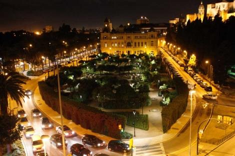Nueva iluminación en el parque de la ciudad. | A. Pastor