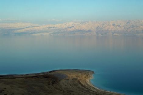 Imágen del Mar Muerto, el lugar más bajo de la Tierra. | El Mundo