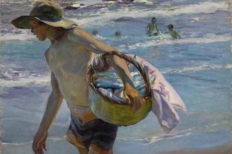 'El pescador' de Joaquín Sorolla. | Sotheby's