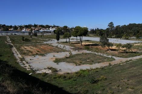Terrenos del campamento Benítez, ahora en desuso. | ELMUNDO.es
