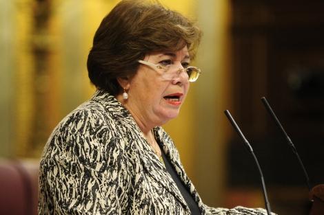 La defensora del Pueblo en funciones, María Luisa Cava de Llano. | Bernardo Díaz