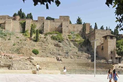 Teatro Romano de Málaga. | ELMUNDO.es