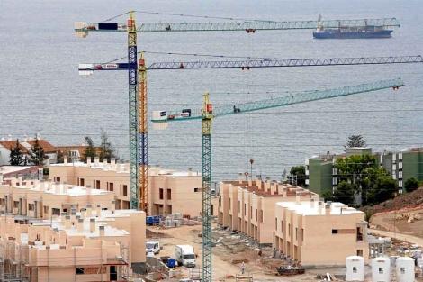 Promoción de viviendas en construcción de Málaga. | ELMUNDO.es