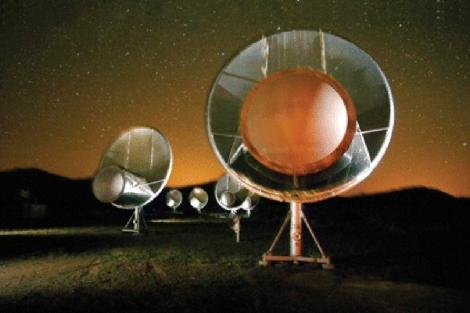 Telescopio Allen (ATA) | Seth Shostak/ Instituto SETI