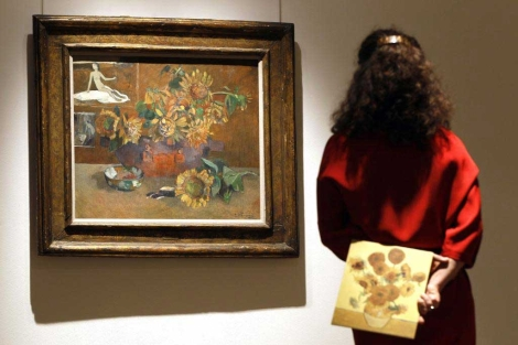'Nature morte a L'Esperance' de Paul Gauguin. | Kirsty Wigglesworth (Ap)