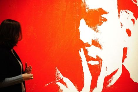 El autorretrato de Warhol que saldrá a subasta. | AFP
