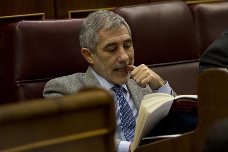 Gaspar Llamazares en el Congreso de los Diputados. | Carlos García Pozo