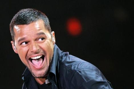 Foto de archivo de Ricky Martin durante un concierto benéfico. | Ap