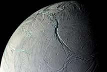 Estrías y grietas en Encélado. | NASA,JPL,SSI