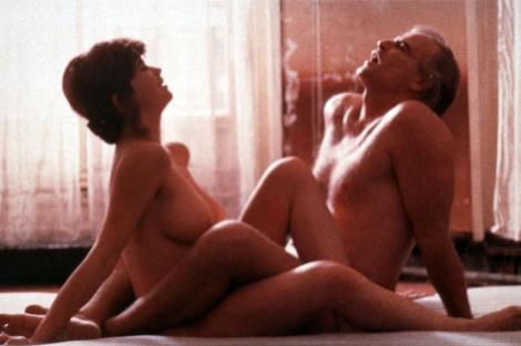 La actriz, en una escena de 'El último tango en París'