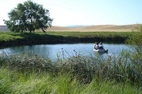 Uno de los lagos analizados para este estudio. | CSIC.
