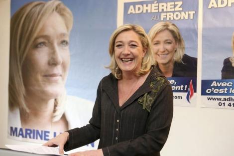 La candidata ultraderechista, Marine Le Pen. | Efe