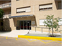 Escuela de Enfermería del hospital.