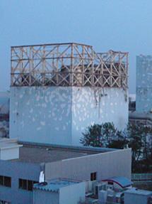 El edificio del reactor 1, tras la explosión. | Ap