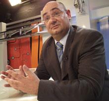 Francisco Javier Cabezas Arenas, alcalde de Ubrique. | J. Contreras