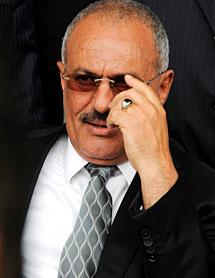 Saleh, este viernes. | Efe