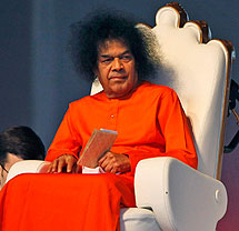 Sathya Sai Baba. | AP
