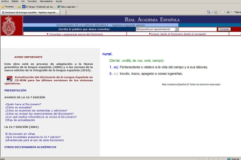 www elmundo es diccionario: