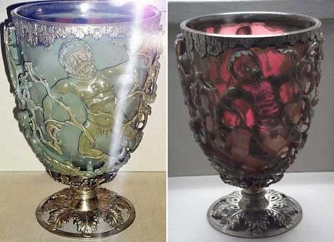 Imagen de la copa de Lycurgus. | Wikipedia
