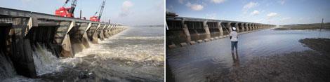 Desbordamiento del río Mississipi que podría afectar al Misouri. | AP