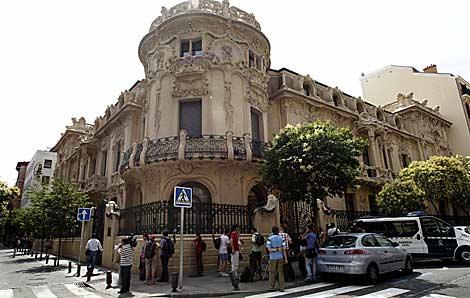 El Palacio de Longoria, sede central de la SGAE. | Efe