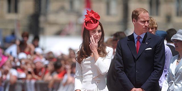 Los duques de Cambridge en su reciente visita a Canadá. | Gtres