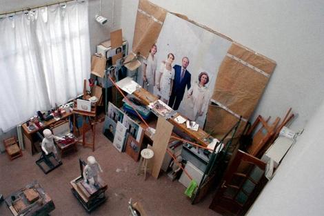 Antonio López entregará tras 18 años el retrato de la familia real 1314817194_0