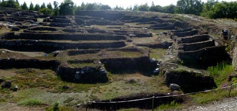 Viladonga fue 'desenterrado' del interior de una colina. | S. P.