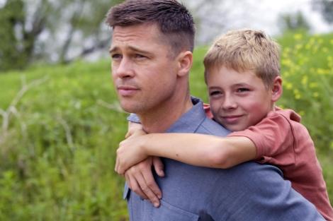 Brad Pitt, en un fotograma de la película 'El árbol de la vida'.