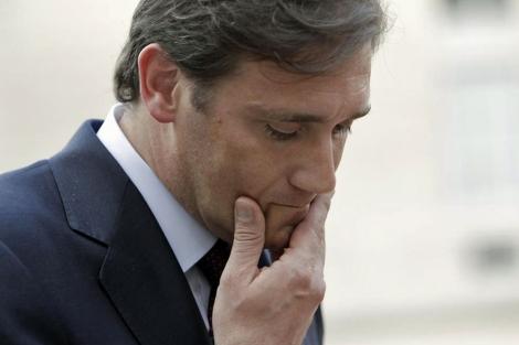 El primer ministro luso tras reunirse el viernes con Sarkozy. | Reuters