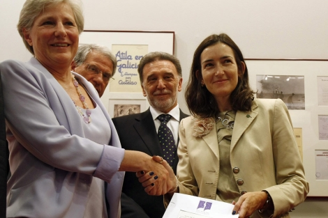 González-Sinde recibe el archivo de Negrín. | E. Carrascal